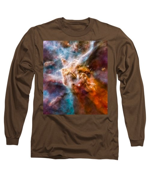 Star-forming Region In The Carina Nebula - Detail 1 Long Sleeve T-Shirt