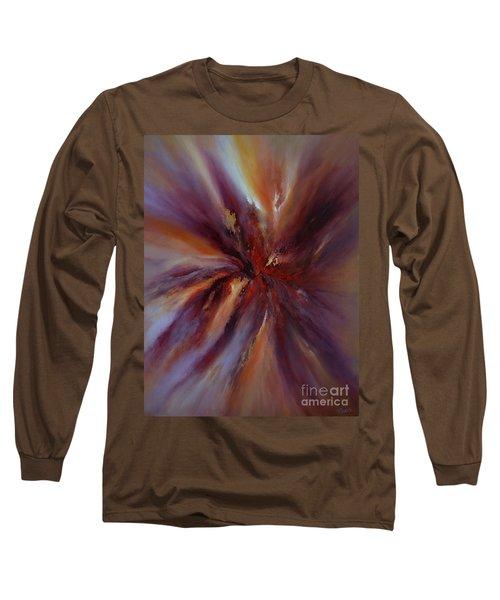 Starburst Long Sleeve T-Shirt by Valerie Travers