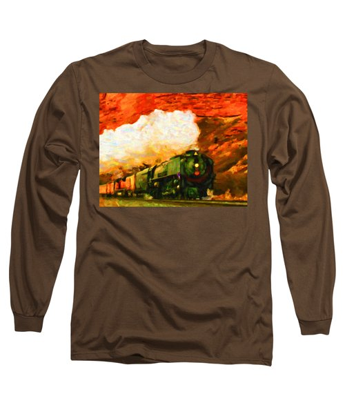Steam And Sandstone Long Sleeve T-Shirt