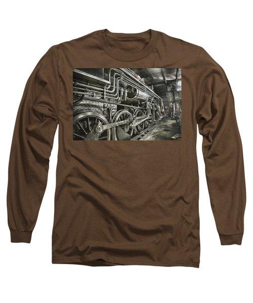 Steam Locomotive 2141 Long Sleeve T-Shirt