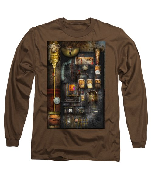 Steampunk - All That For A Cup Of Coffee Long Sleeve T-Shirt
