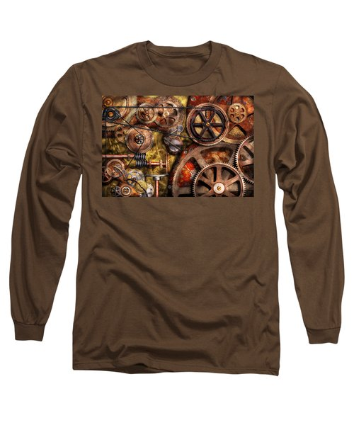 Steampunk - Gears - Inner Workings Long Sleeve T-Shirt