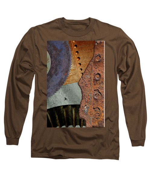 Steel Collage Long Sleeve T-Shirt