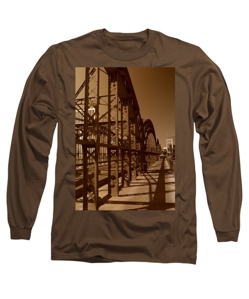 Steel Shadows Long Sleeve T-Shirt