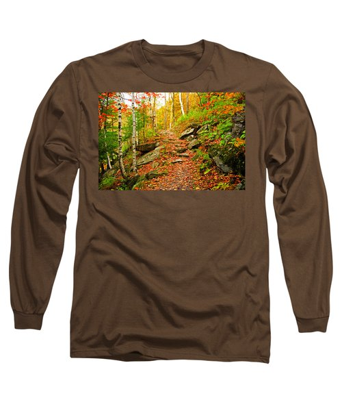 Stepping Stones Long Sleeve T-Shirt by Bill Howard