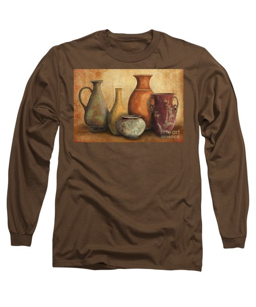 Still Life-c Long Sleeve T-Shirt by Jean Plout