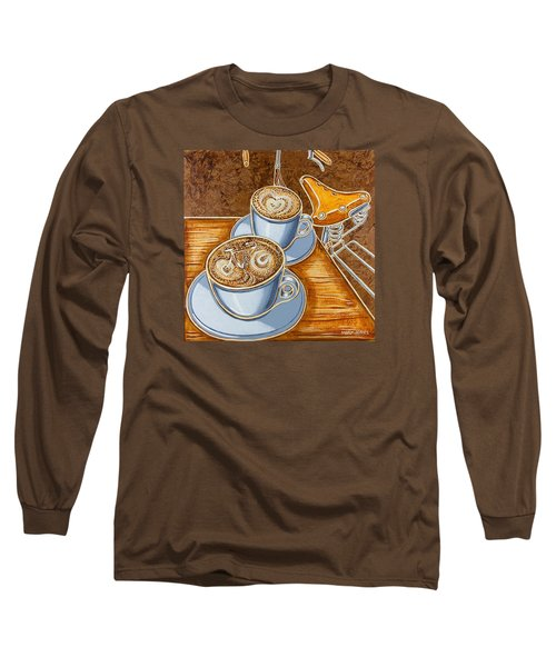 Still Life With Bicycle Long Sleeve T-Shirt by Mark Jones