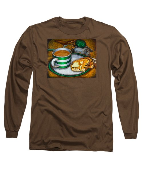 Still Life With Green Touring Bike Long Sleeve T-Shirt by Mark Jones