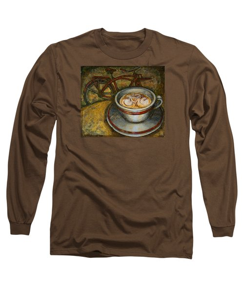 Still Life With Red Cruiser Bike Long Sleeve T-Shirt by Mark Jones