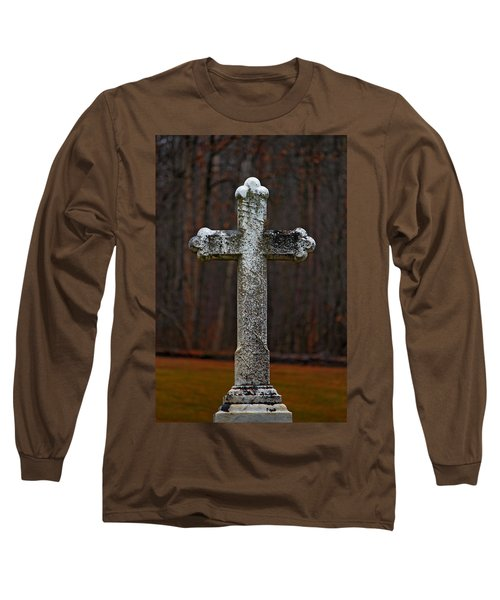 Stone Cross Long Sleeve T-Shirt