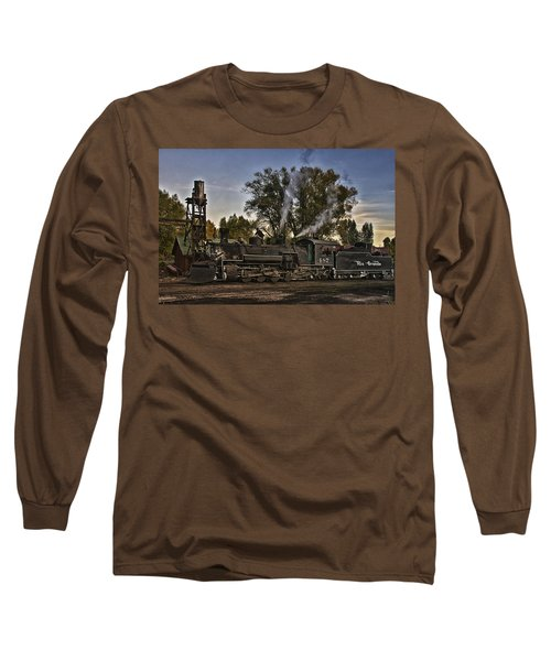 Long Sleeve T-Shirt featuring the photograph Stopped At Chama by Priscilla Burgers