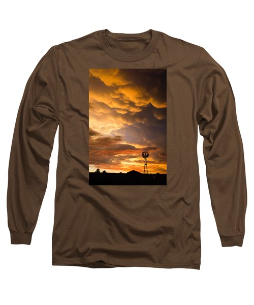 Stormy Sunrise Long Sleeve T-Shirt