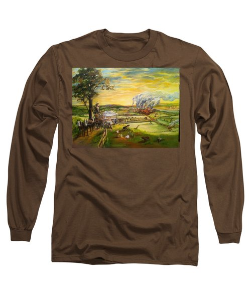 Story2 Long Sleeve T-Shirt by Mary Ellen Anderson