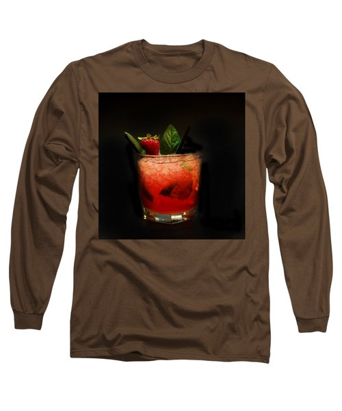 Strawberry Mojito Long Sleeve T-Shirt