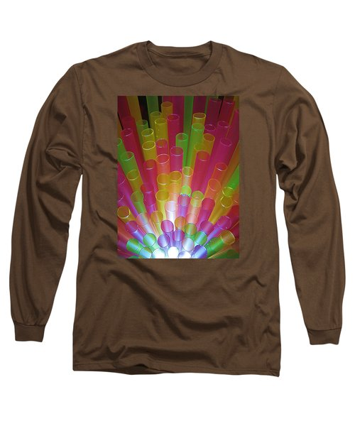Long Sleeve T-Shirt featuring the photograph Straws II by John King