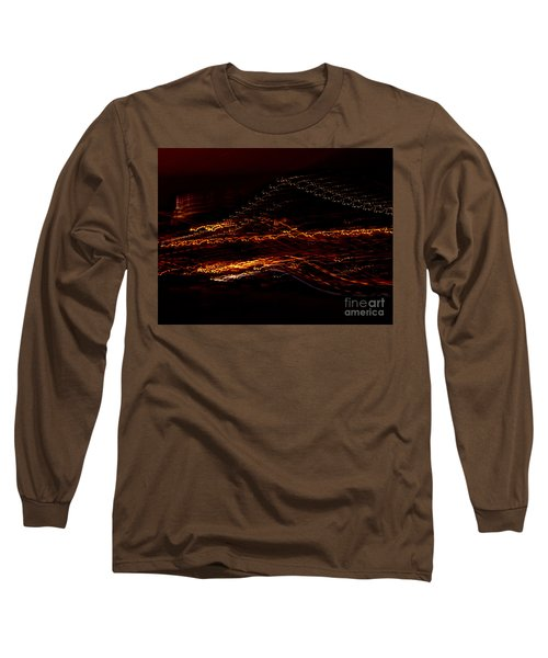 Streaks Across The Bridge Long Sleeve T-Shirt