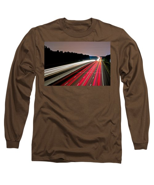 Streaks Of Light Long Sleeve T-Shirt