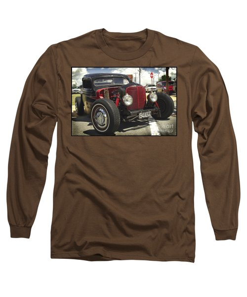 Long Sleeve T-Shirt featuring the photograph Street Rod Truck by James C Thomas