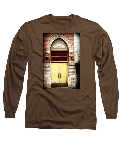 Street View Long Sleeve T-Shirt by Melanie Lankford Photography