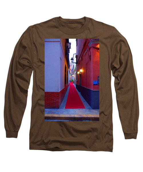 Streets Of Seville - Red Carpet  Long Sleeve T-Shirt