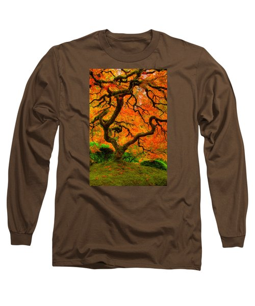 Structured Beauty Long Sleeve T-Shirt by Dustin  LeFevre