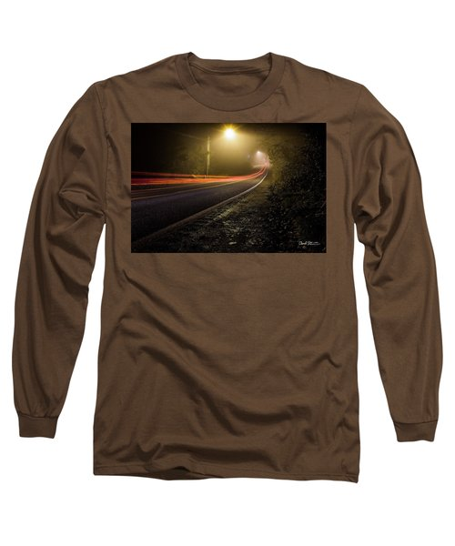 Suburbian Night Long Sleeve T-Shirt by Charlie Duncan