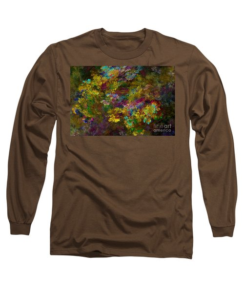 Long Sleeve T-Shirt featuring the digital art Summer Burst by Olga Hamilton