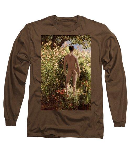 Summer Day In The Garden   Long Sleeve T-Shirt