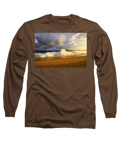 Long Sleeve T-Shirt featuring the photograph Summer Storm by Eti Reid
