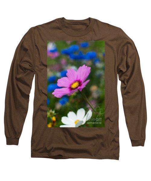 Long Sleeve T-Shirt featuring the photograph Summer Wild Blooms by Matt Malloy