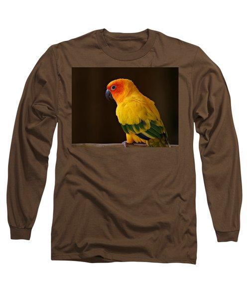 Sun Conure Parrot Long Sleeve T-Shirt