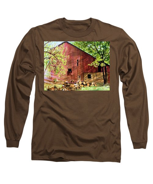 Sun Stroked Long Sleeve T-Shirt by Barbara Jewell