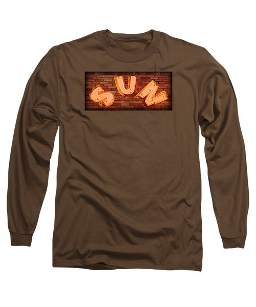 Sun Studio Neon Long Sleeve T-Shirt by Stephen Stookey
