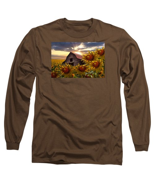 Sunflower Dance Long Sleeve T-Shirt