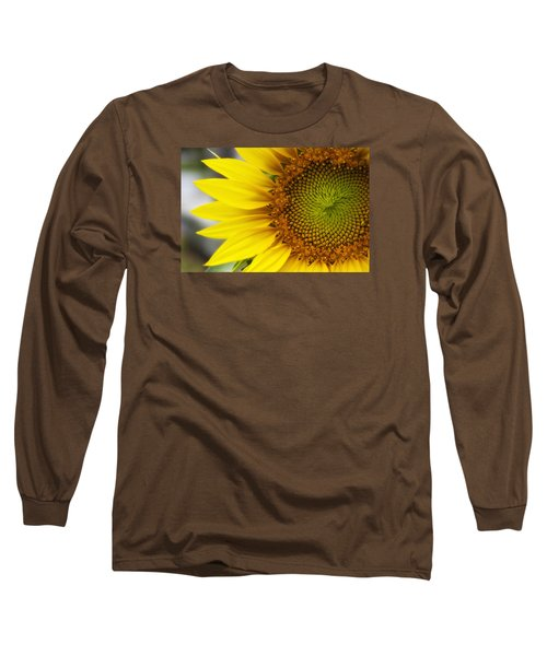 Sunflower Face Long Sleeve T-Shirt by Shelly Gunderson