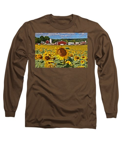 Sunflower Nirvana 21 Long Sleeve T-Shirt