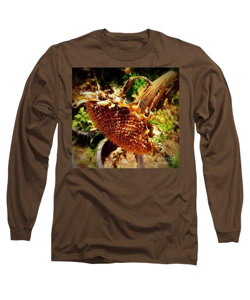 Long Sleeve T-Shirt featuring the photograph Sunflower Seedless 1 by James Aiken