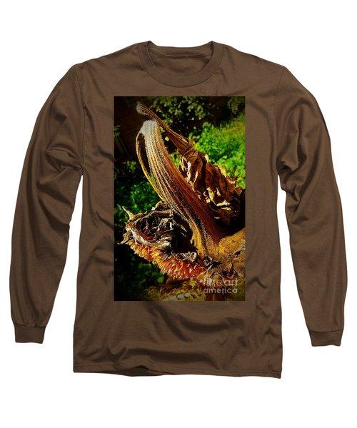 Long Sleeve T-Shirt featuring the photograph Sunflower Seedless 2 by James Aiken