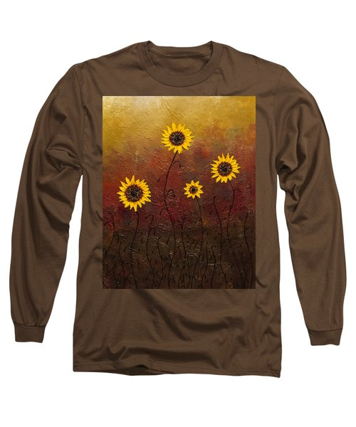 Sunflowers 3 Long Sleeve T-Shirt