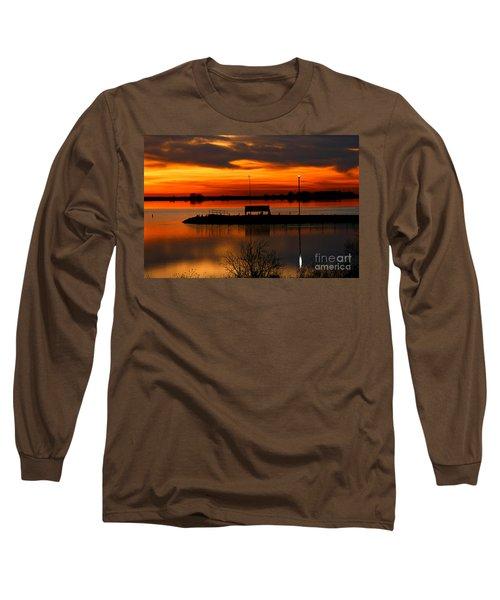 Sunrise At Jackson Long Sleeve T-Shirt