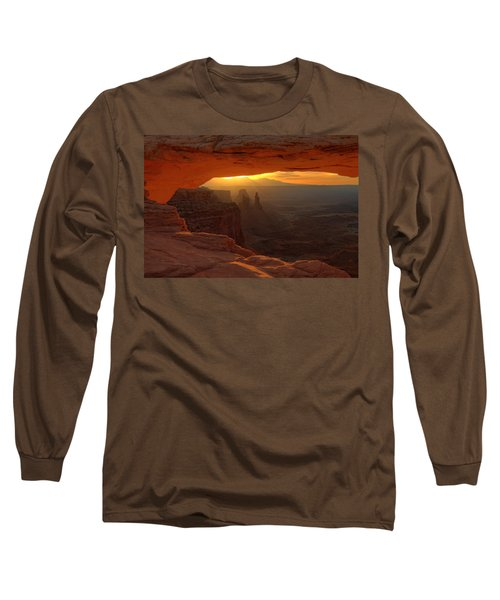 Sunrise At Mesa Arch 2 Long Sleeve T-Shirt