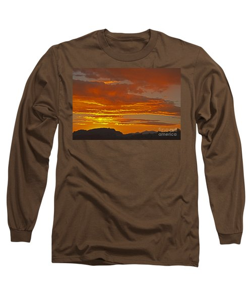 Sunrise Capitol Reef National Park Long Sleeve T-Shirt