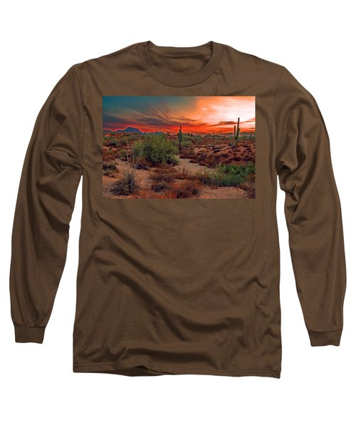 Sunrise Cocktail Long Sleeve T-Shirt by Tam Ryan