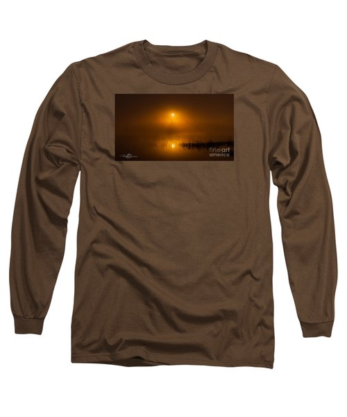 Sunrise In The Fog Long Sleeve T-Shirt