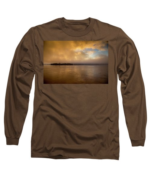 Sunrise On Don Khong Island Long Sleeve T-Shirt