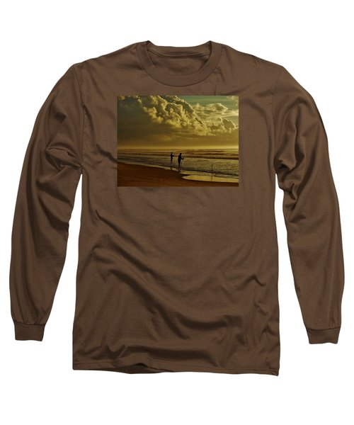 Sunrise Surf Fishing Long Sleeve T-Shirt