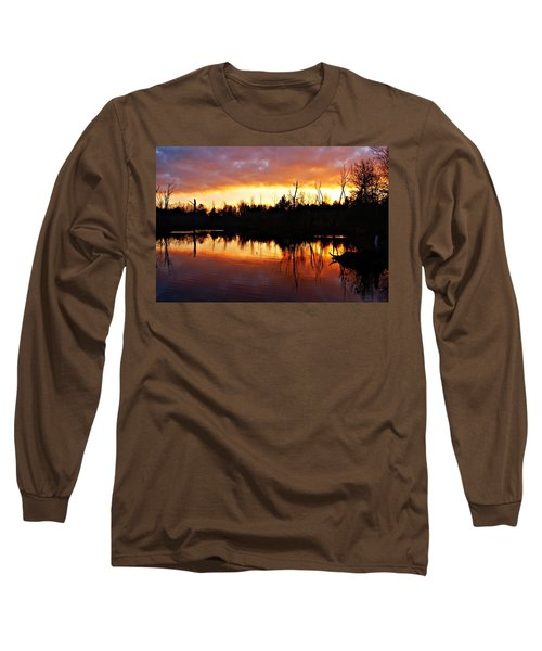Sunrise Thanksgiving Morning Long Sleeve T-Shirt