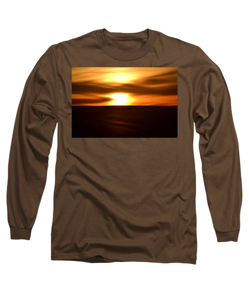 Sunset Abstract II Long Sleeve T-Shirt