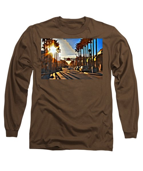 Sunset In Daytona Beach Long Sleeve T-Shirt