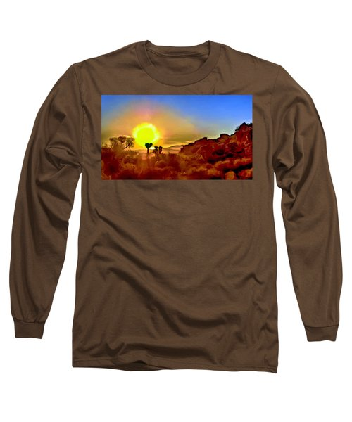 Sunset Joshua Tree National Park V2 Long Sleeve T-Shirt
